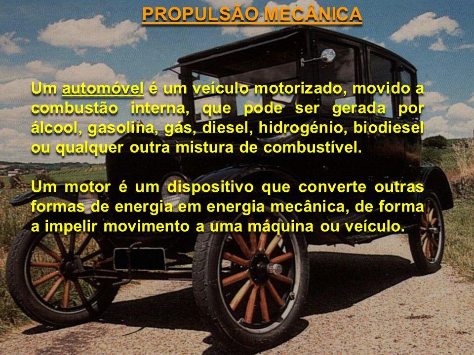 PROPULSÃO MECÂNICA