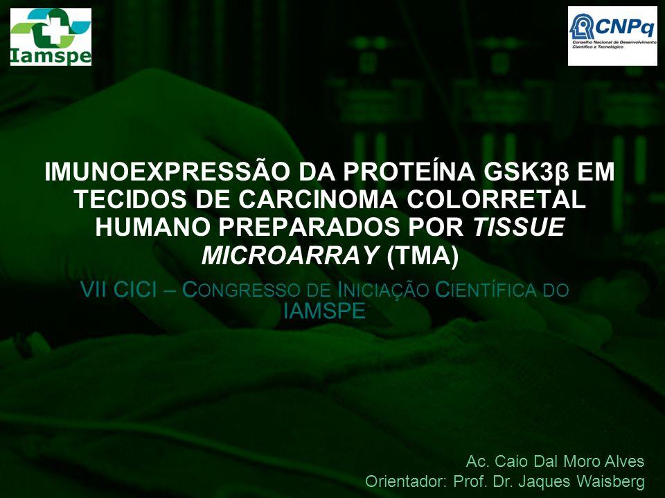 VII CICI – Congresso de Iniciação Científica do IAMSPE