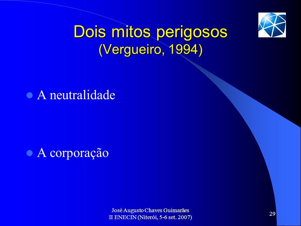 Dois mitos perigosos (Vergueiro, 1994)