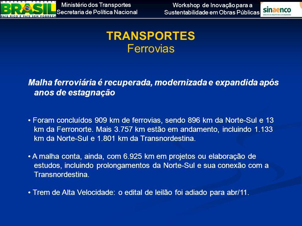 TRANSPORTES Ferrovias
