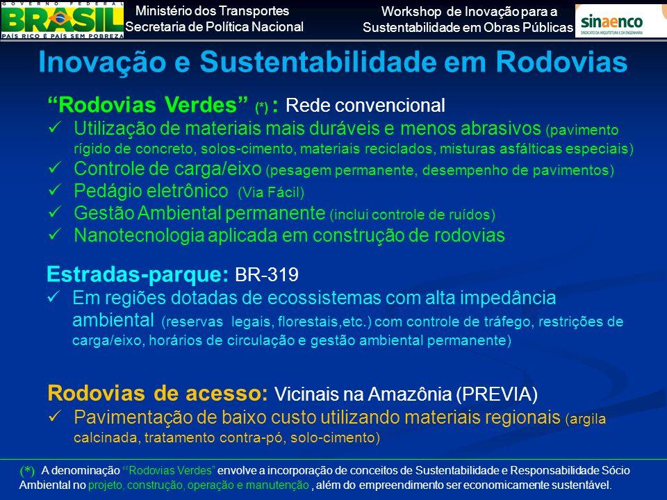 Inovação e Sustentabilidade em Rodovias