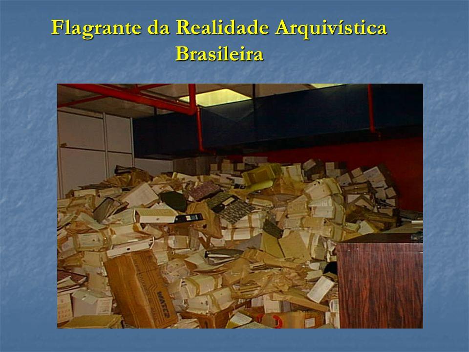 Flagrante da Realidade Arquivística Brasileira