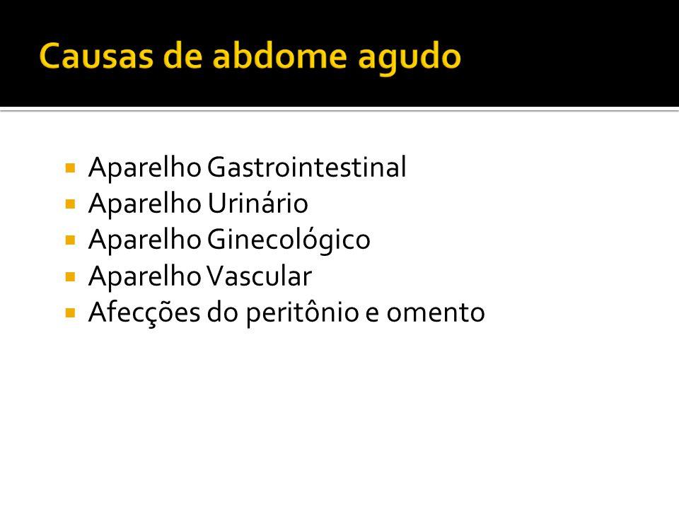 Aparelho Gastrointestinal