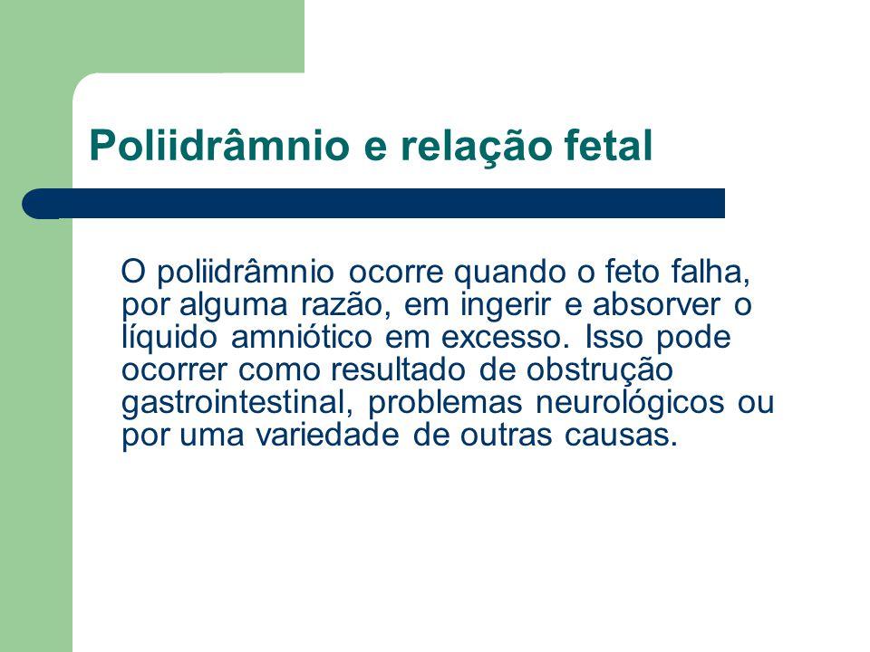 Poliidrâmnio e relação fetal