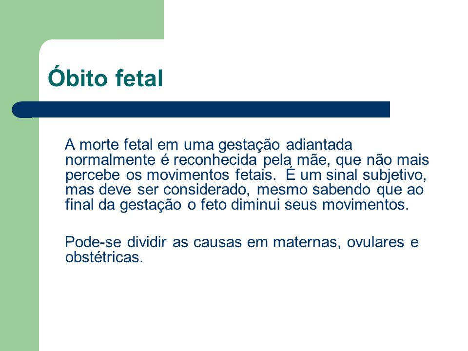 Óbito fetal
