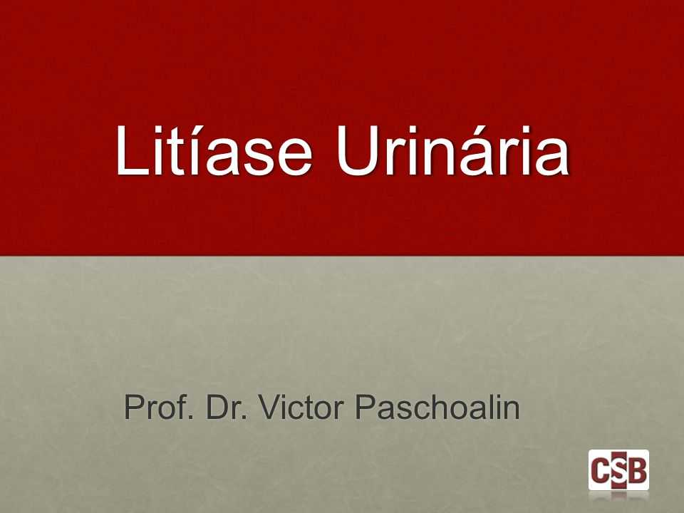 Prof. Dr. Victor Paschoalin