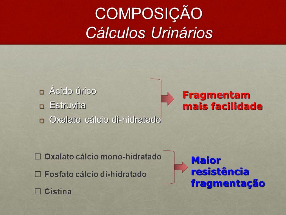 COMPOSIÇÃO Cálculos Urinários