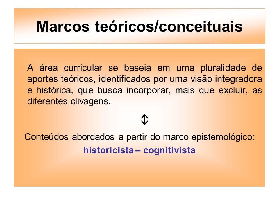 Marcos teóricos/conceituais
