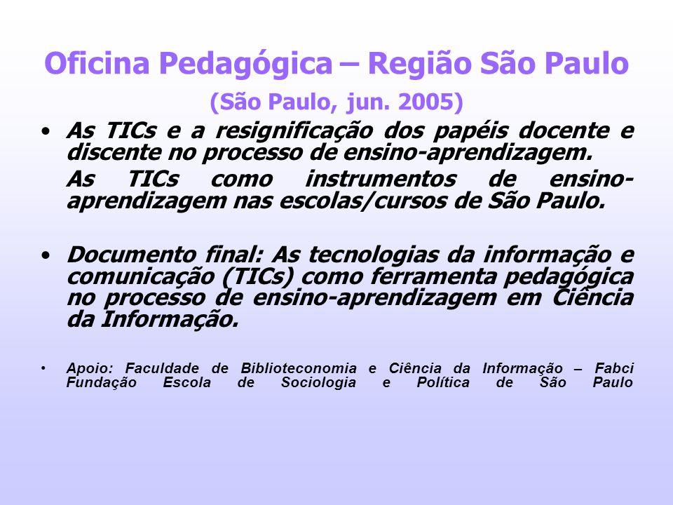 Oficina Pedagógica – Região São Paulo (São Paulo, jun. 2005)