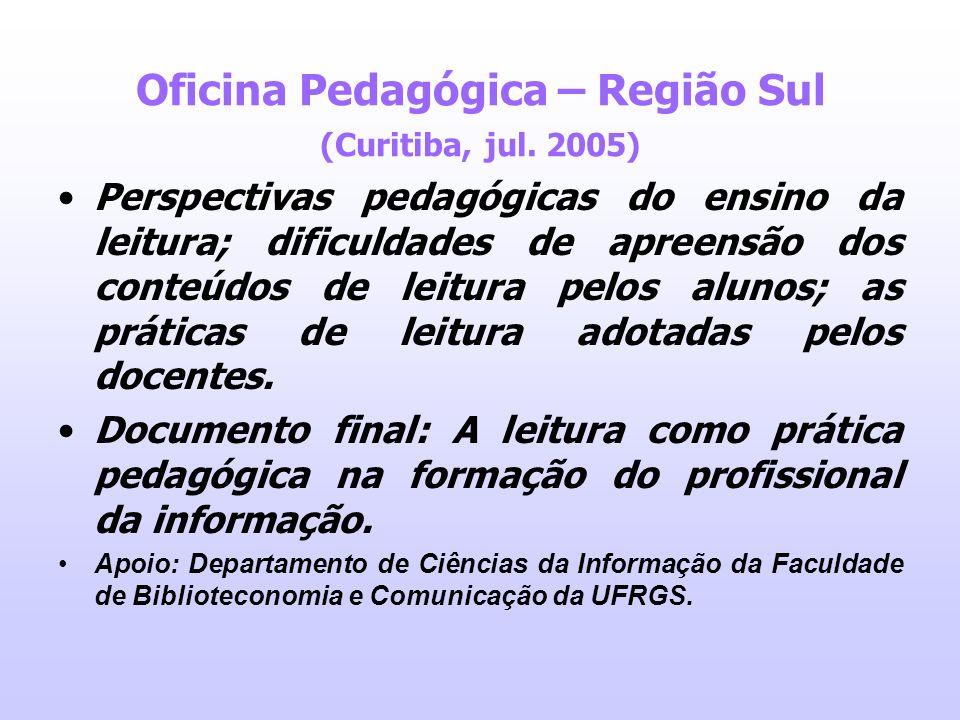 Oficina Pedagógica – Região Sul (Curitiba, jul. 2005)