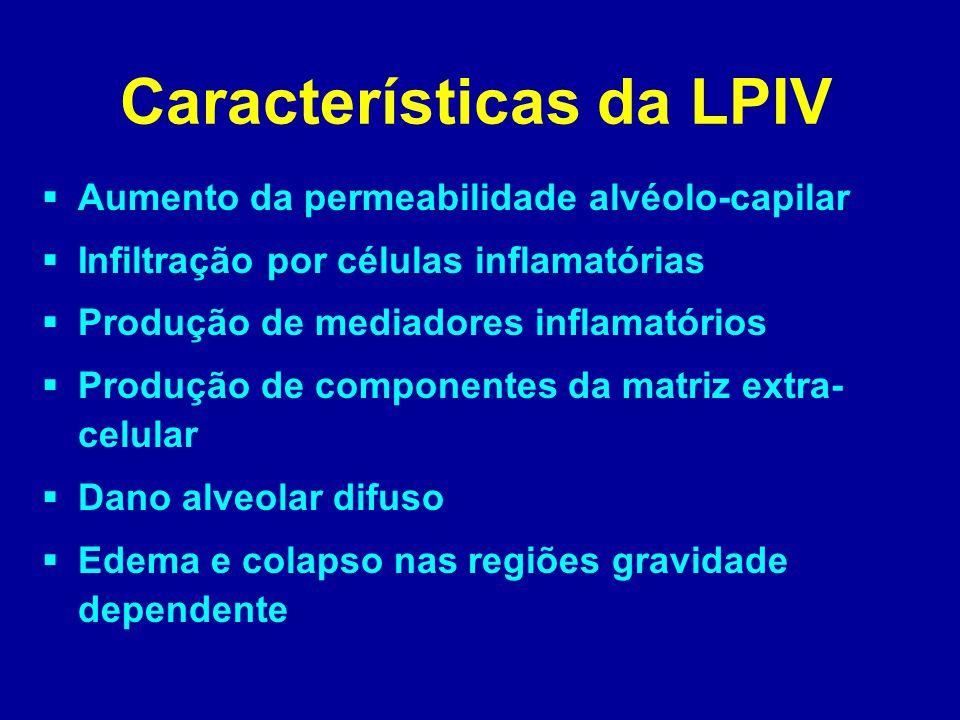 Características da LPIV