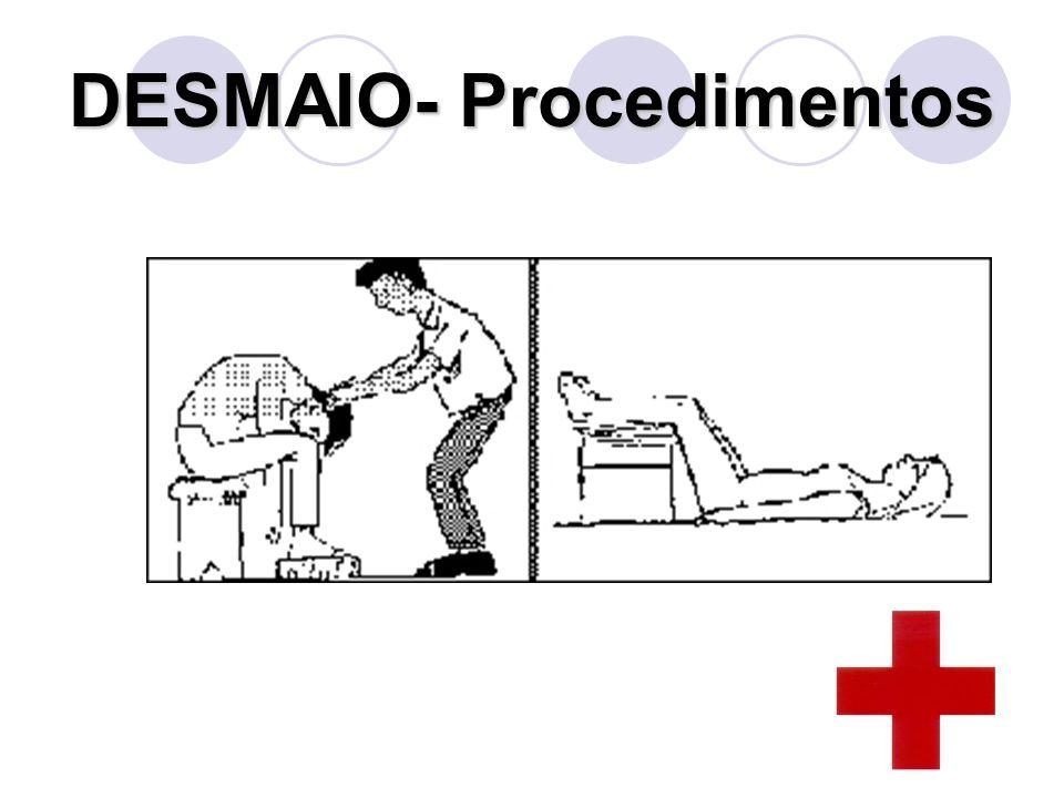 DESMAIO- Procedimentos