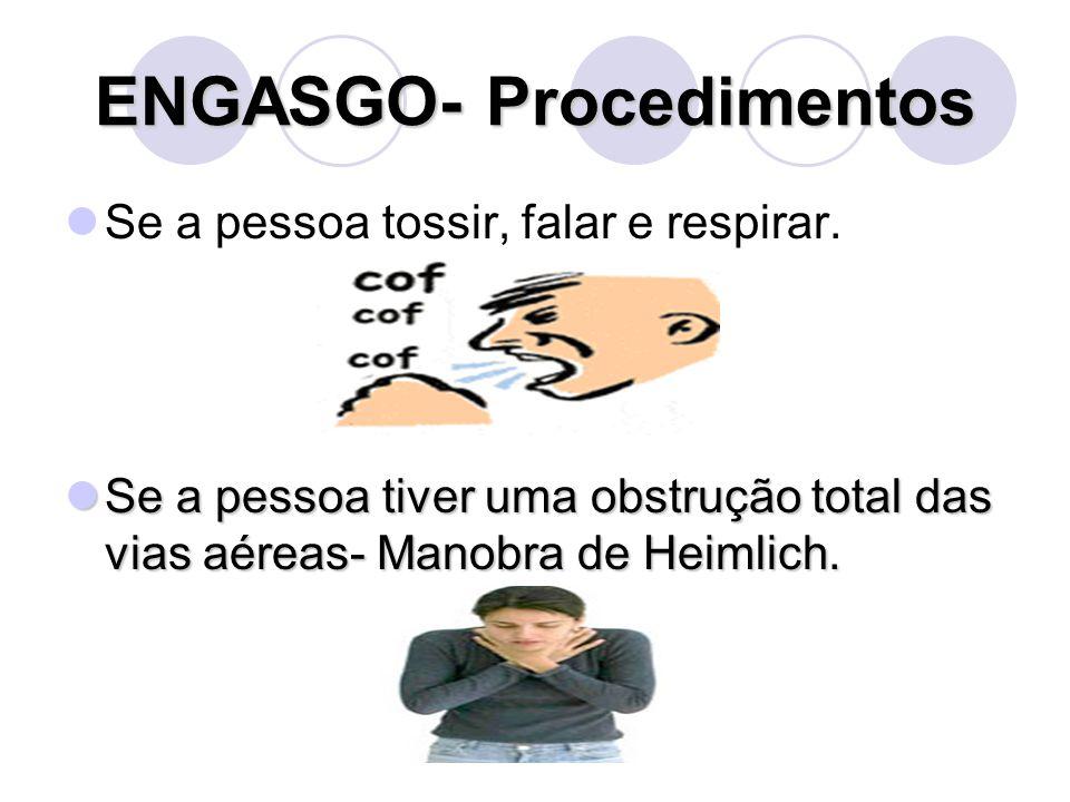 ENGASGO- Procedimentos