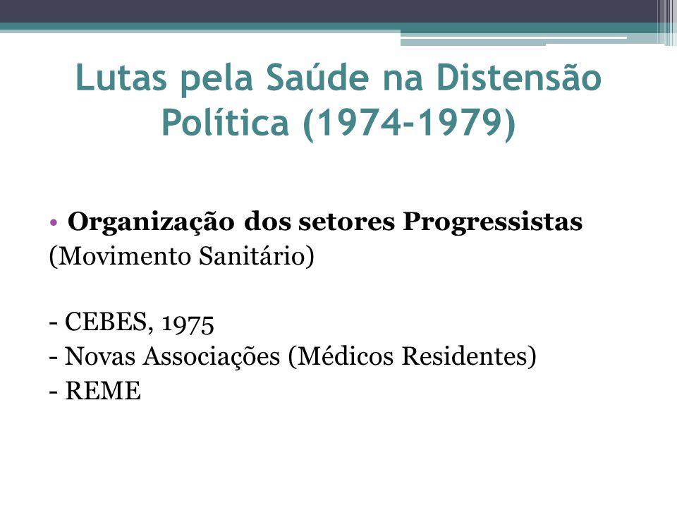 Lutas pela Saúde na Distensão Política (1974-1979)