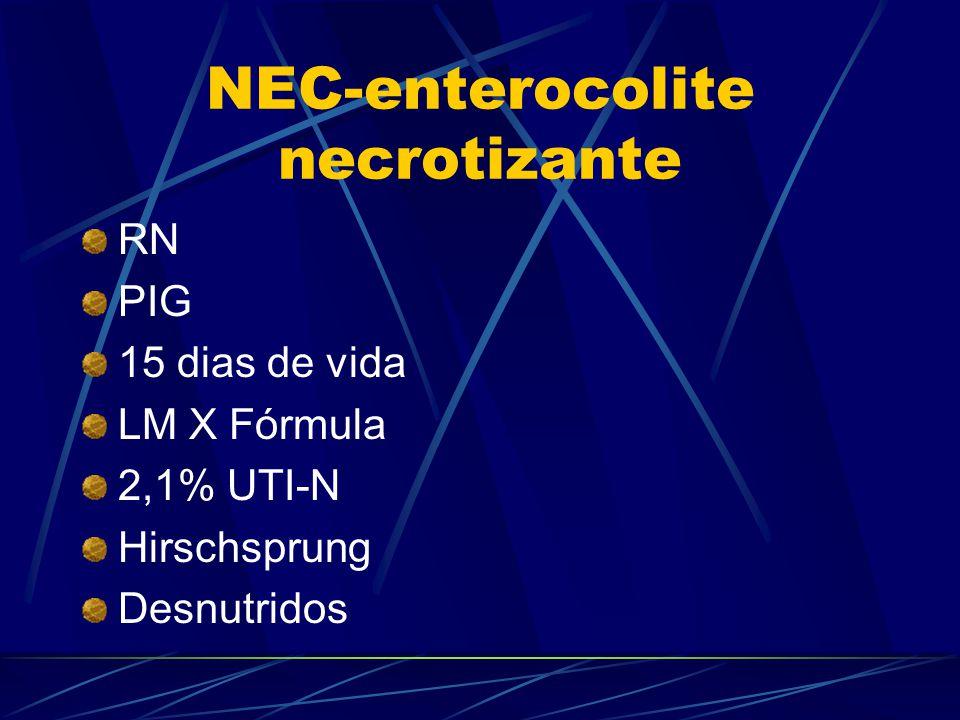 NEC-enterocolite necrotizante