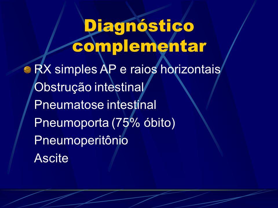 Diagnóstico complementar