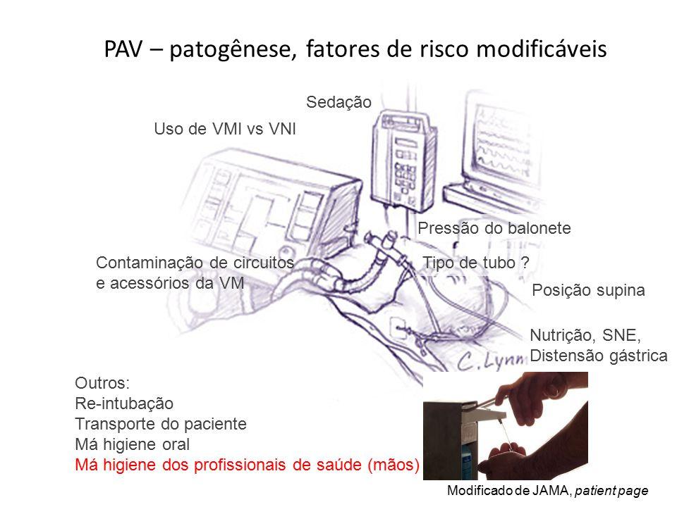 PAV – patogênese, fatores de risco modificáveis