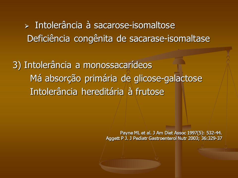 Intolerância à sacarose-isomaltose