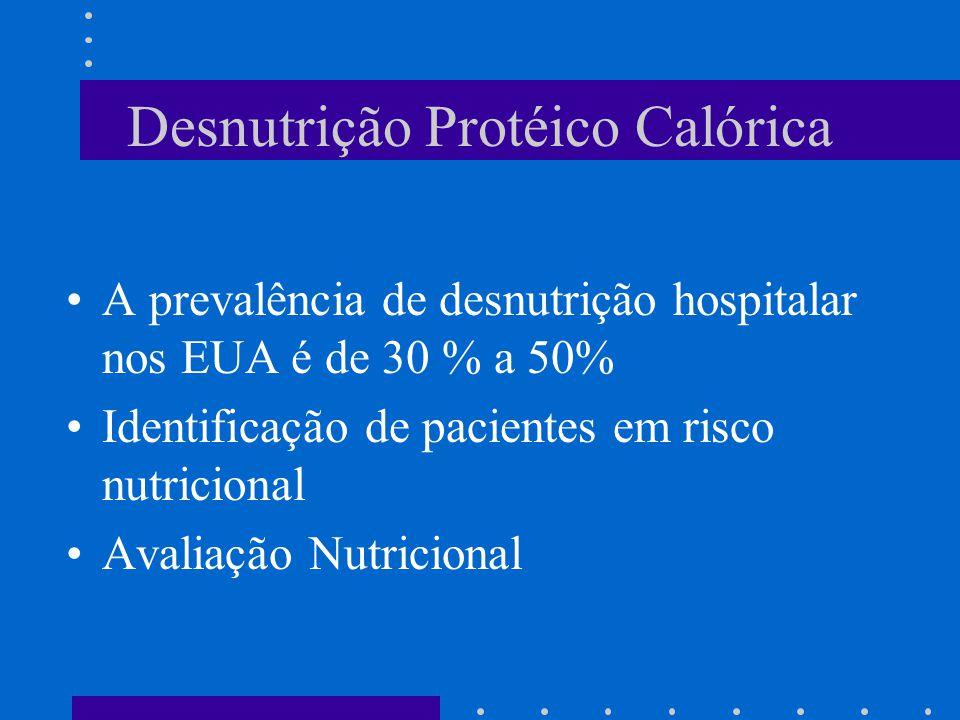 Desnutrição Protéico Calórica