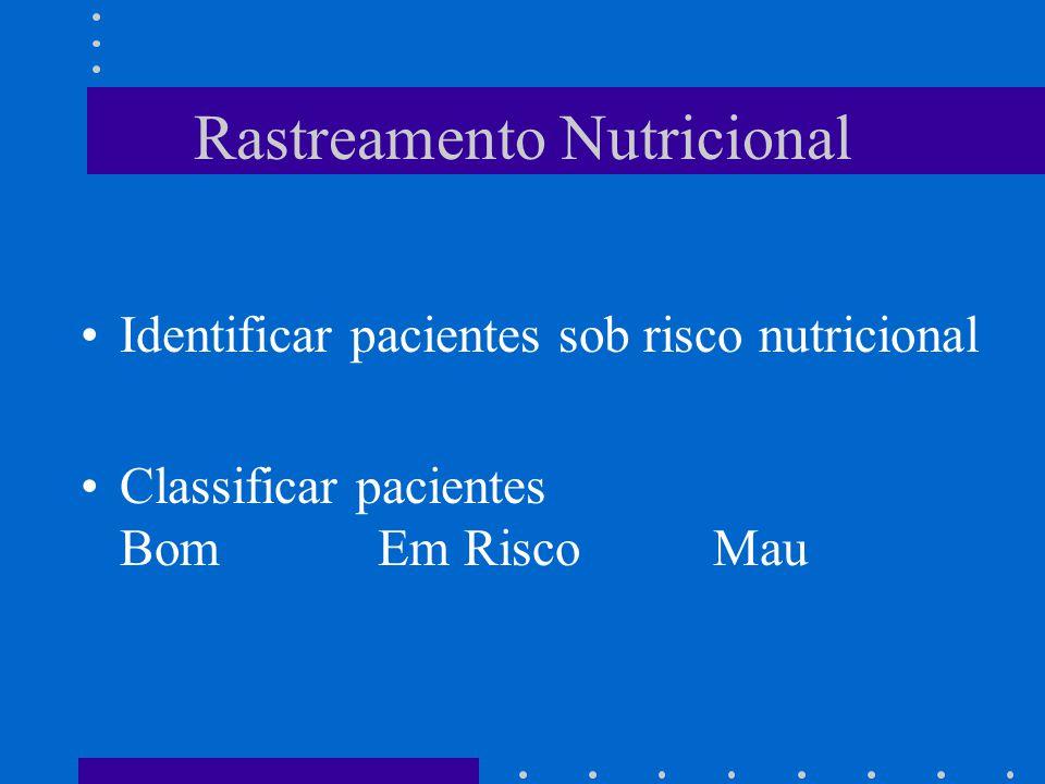Rastreamento Nutricional