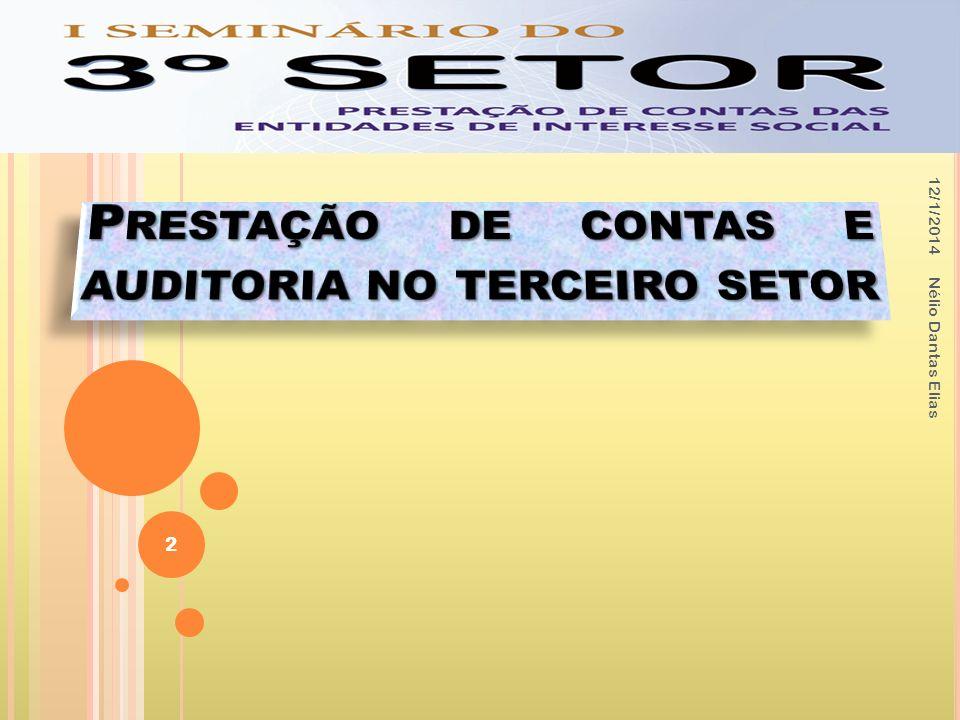 Prestação de contas e auditoria no terceiro setor