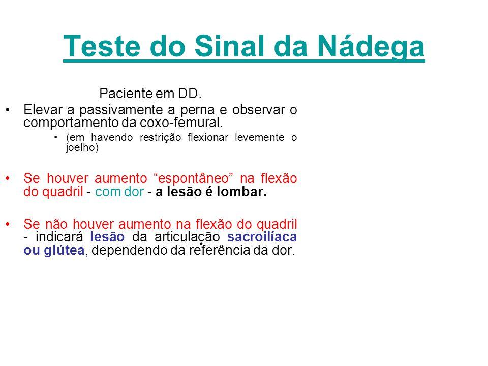 Teste do Sinal da Nádega