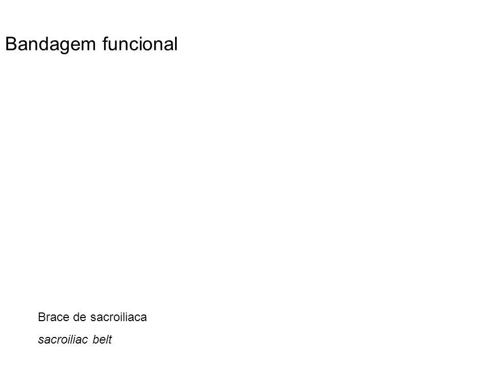 Bandagem funcional Brace de sacroiliaca sacroiliac belt