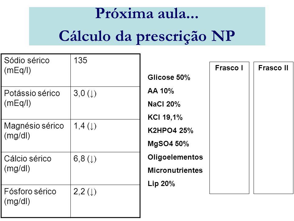 Cálculo da prescrição NP