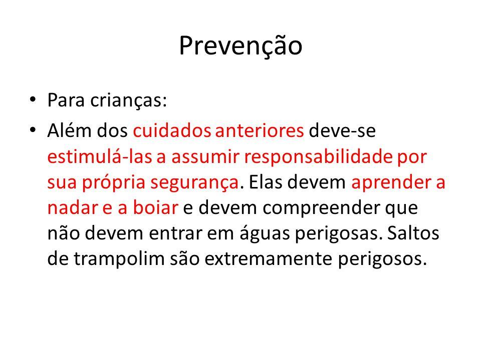 Prevenção Para crianças: