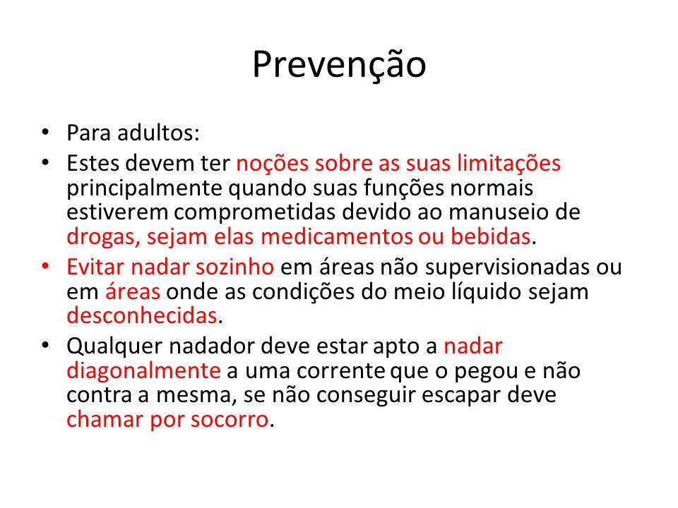 Prevenção Para adultos: