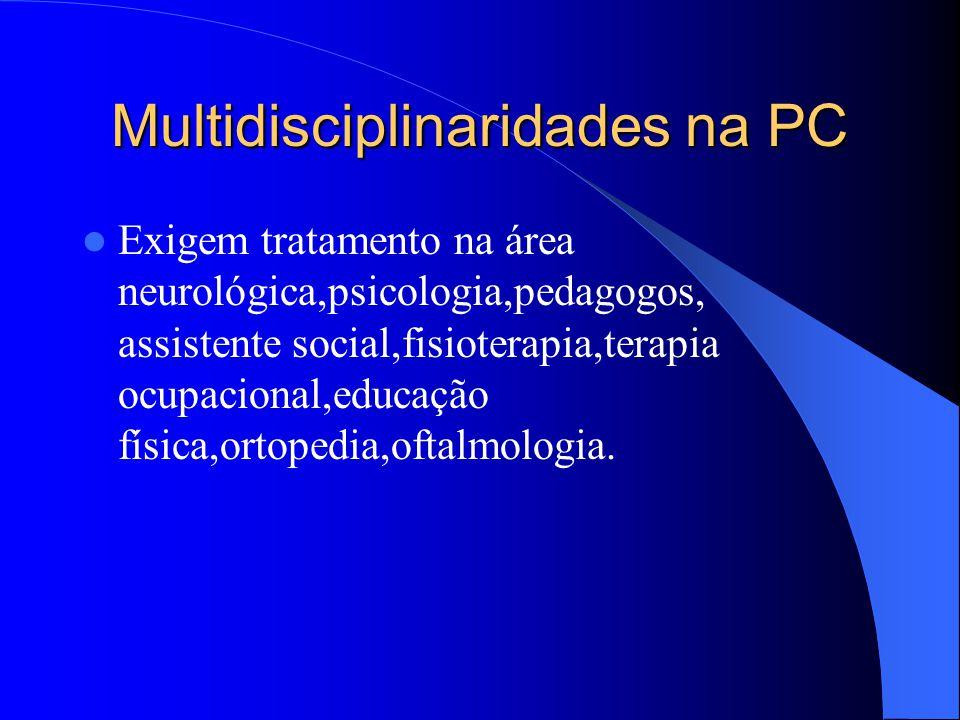 Multidisciplinaridades na PC