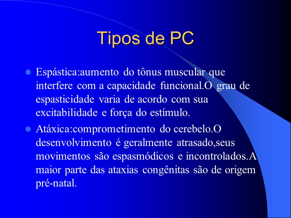 Tipos de PC