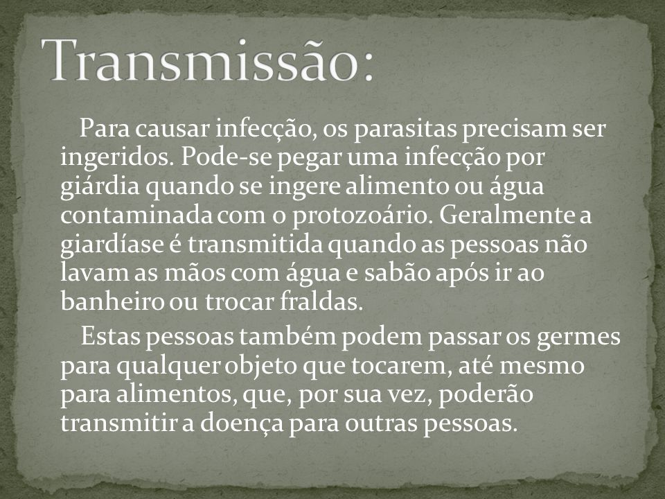 Transmissão: