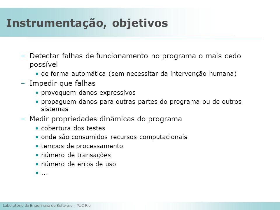 Instrumentação, objetivos