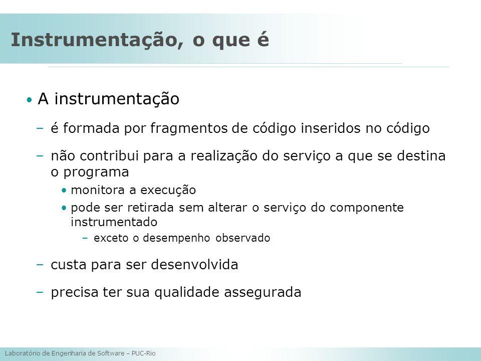 Instrumentação, o que é A instrumentação