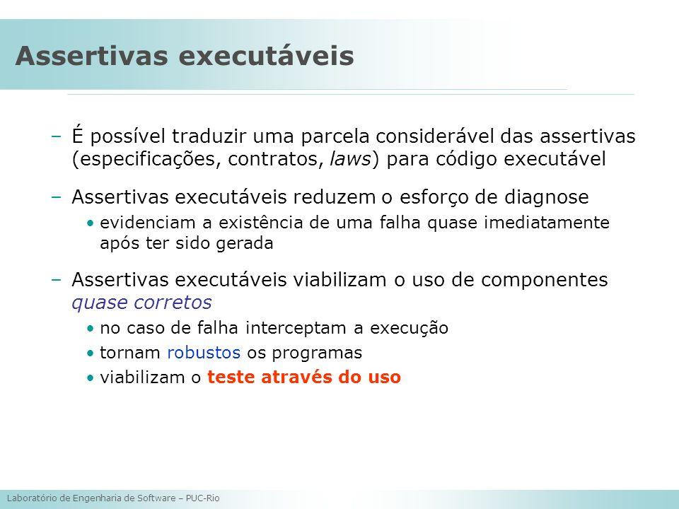 Assertivas executáveis