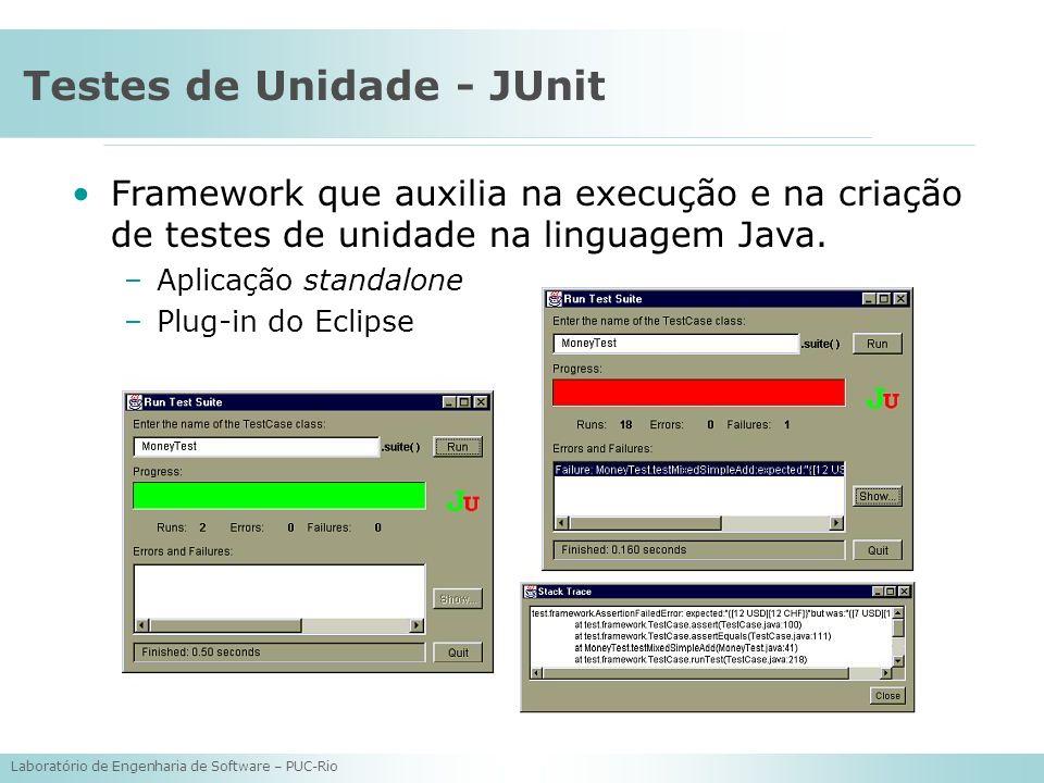 Testes de Unidade - JUnit