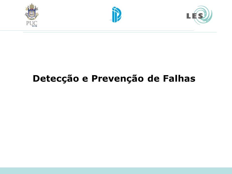 Detecção e Prevenção de Falhas