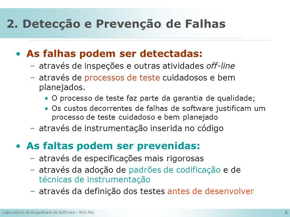 2. Detecção e Prevenção de Falhas