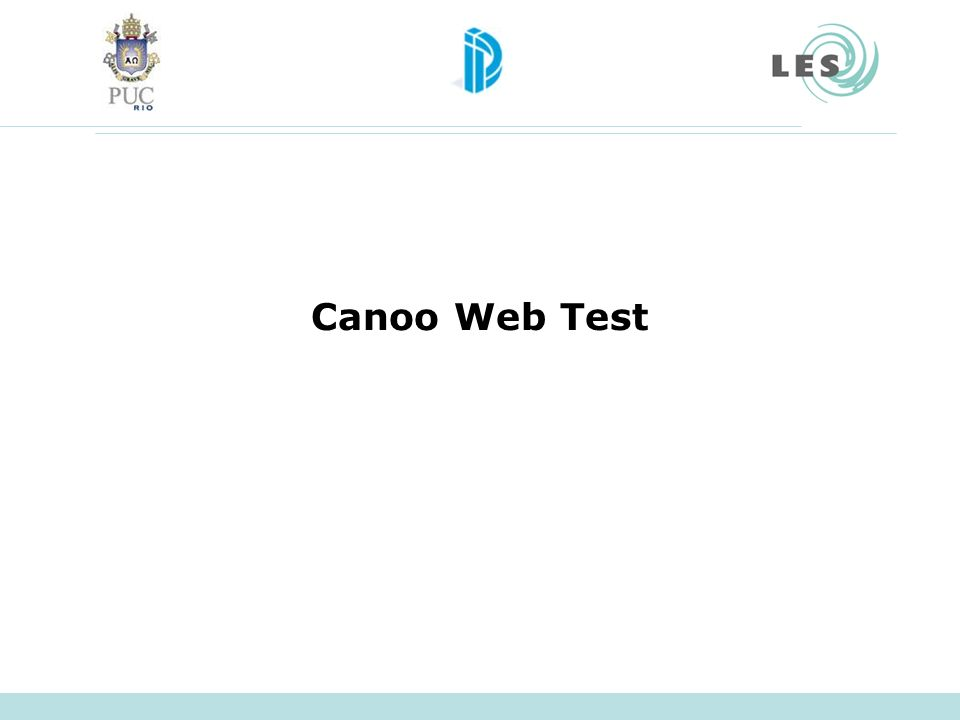 Canoo Web Test