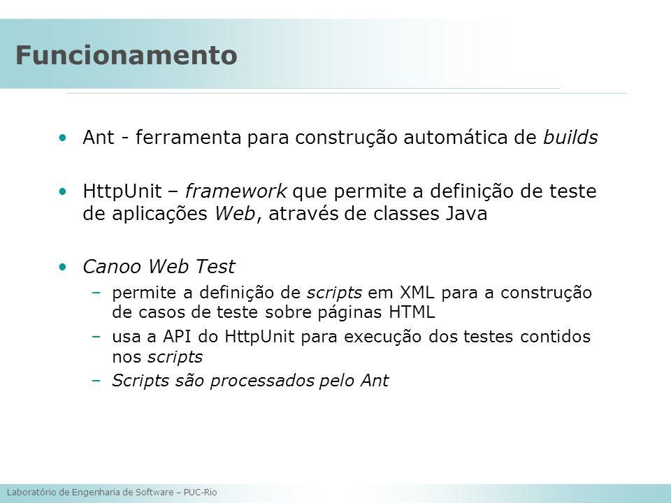 Funcionamento Ant - ferramenta para construção automática de builds