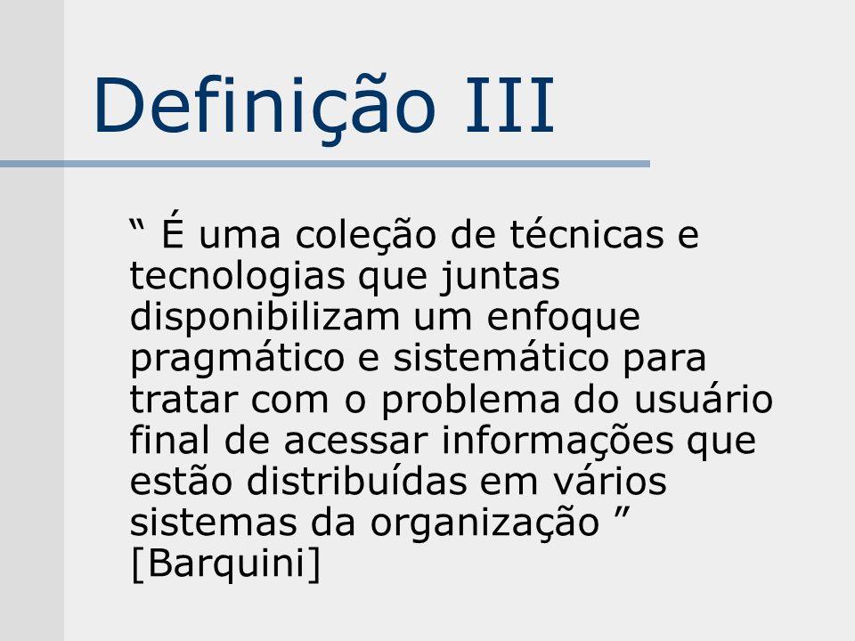 Definição III