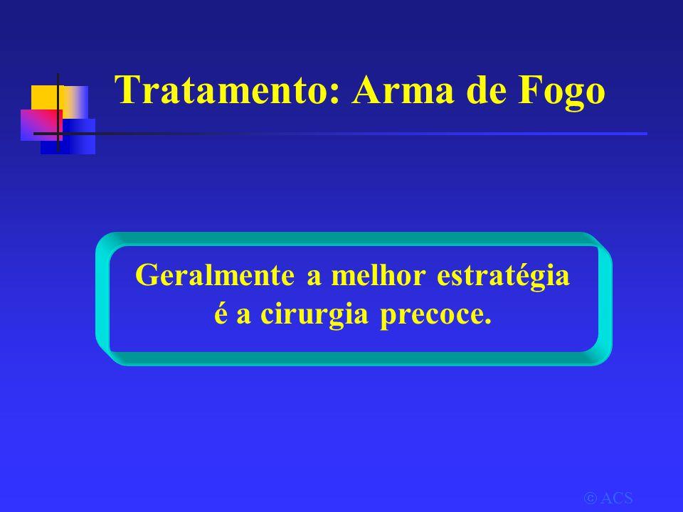 Tratamento: Arma de Fogo