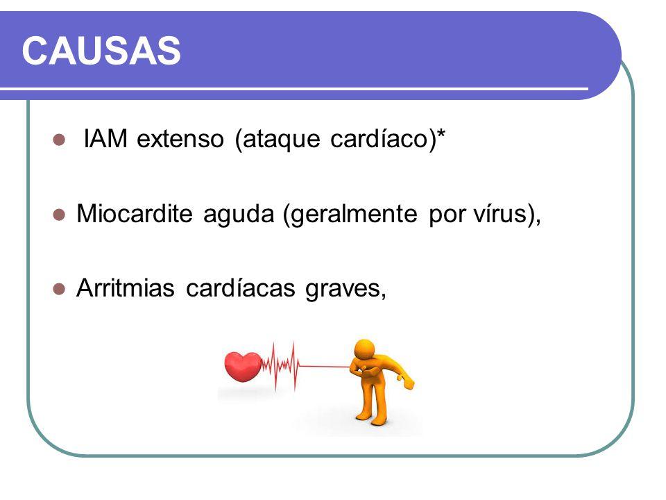CAUSAS IAM extenso (ataque cardíaco)*