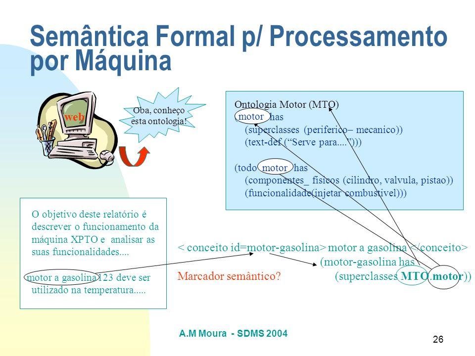 Semântica Formal p/ Processamento por Máquina