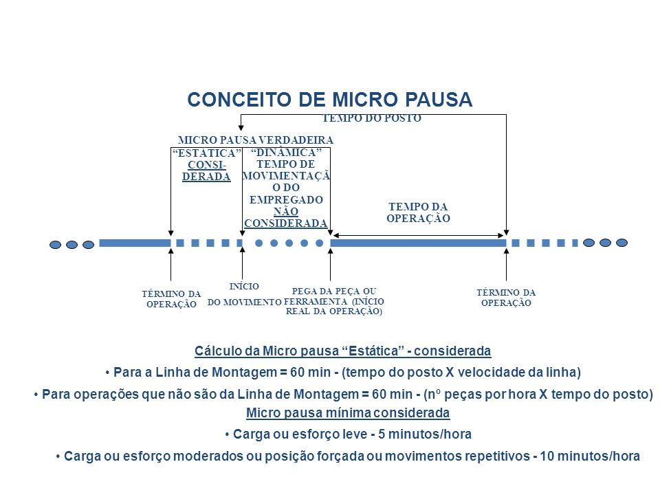 CONCEITO DE MICRO PAUSA