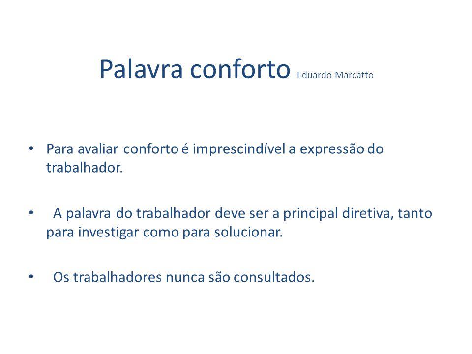 Palavra conforto Eduardo Marcatto