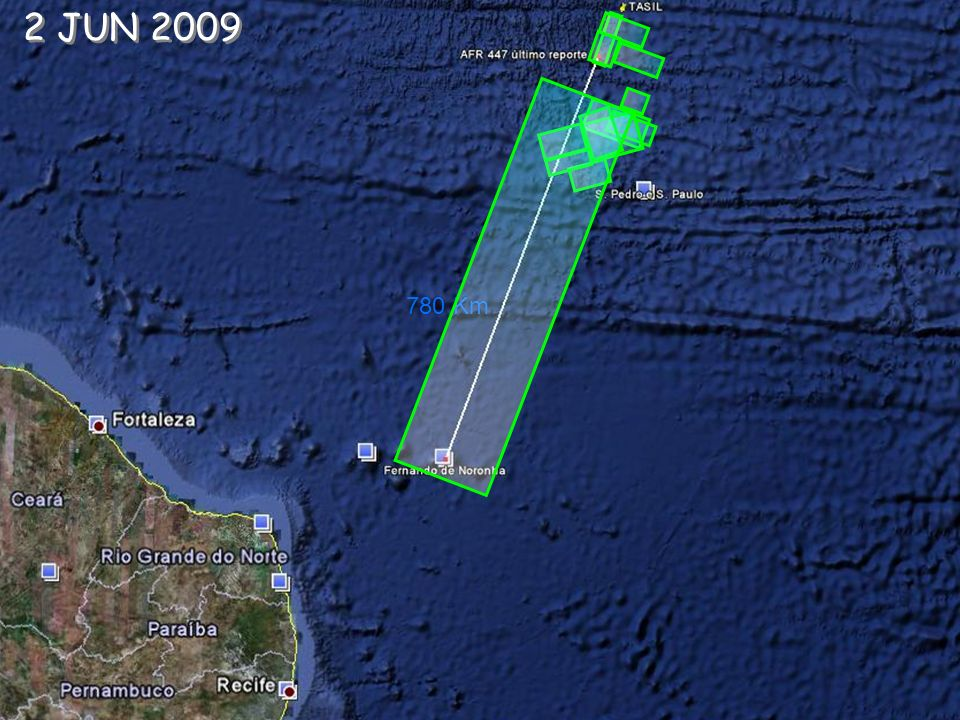 2 JUN 2009 780 Km