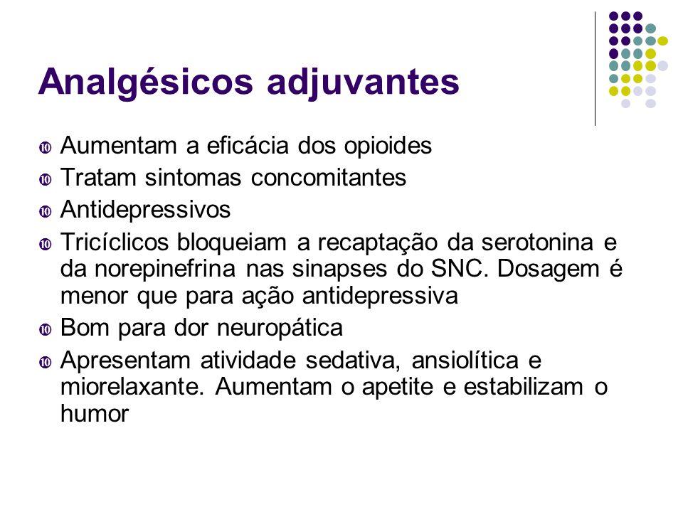 Analgésicos adjuvantes