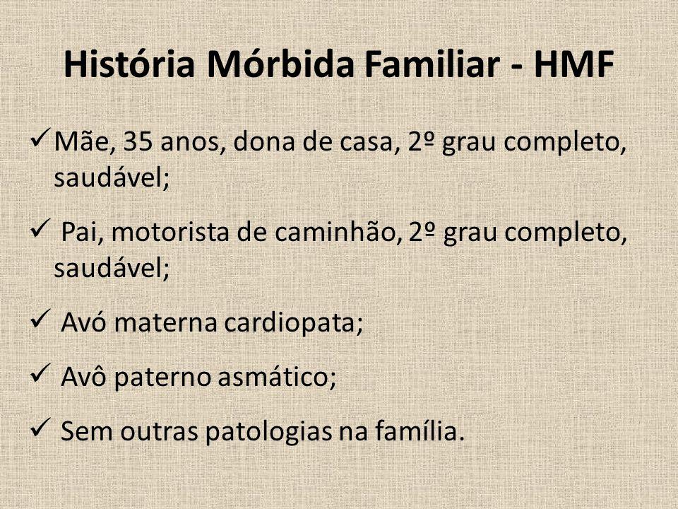 História Mórbida Familiar - HMF